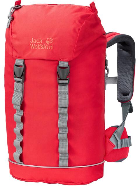 Jack Wolfskin Jungle Plecak Dzieci czerwony